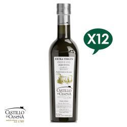 Castillo de Canena卡內納城堡 家族珍藏-阿貝金納品種特級初榨橄欖油500ml*6 (一箱裝)