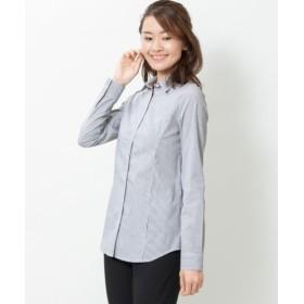 ストレッチシャツ(選べるバスト) (大きいサイズレディース) plus size shirts, 衫, 襯衫
