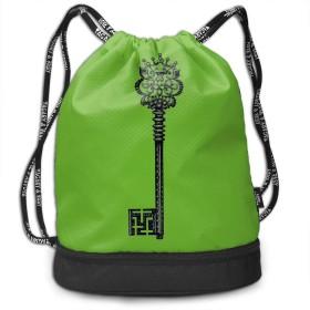 鍵 ジムサック ナップサック スポーツバッグ 手提げポーチ かわいい巾着袋 おしゃれバッグ アウトドア 旅行 登山 遠足用