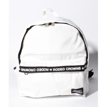 (RODEO CROWNS(BAG)/ロデオクラウンズ バッグ)【RODEO CROWNS】【RODEOCROWNS】LOGO NYLON RYUCK/レディース WH