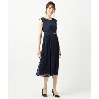 any SiS/エニィスィス 【2WAY】サイドレースジュエル ドレス ネイビー 2