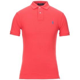 《セール開催中》POLO RALPH LAUREN メンズ ポロシャツ レッド S コットン 100%