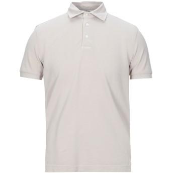 《セール開催中》PANICALE メンズ ポロシャツ サンド 48 コットン 100%