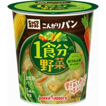 ポッカサッポロ 野菜ほうれん草チャウダー カップ 33g まとめ買い(×6) 4589850823251(tc)