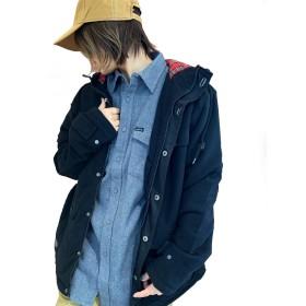 MATIX Hooded Jacket/マティックス フード付き ジャケット (M, ブラック)