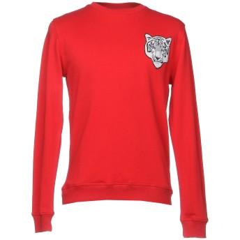 《セール開催中》TENSHI MISHERU メンズ スウェットシャツ レッド S コットン 100% / ポリウレタン
