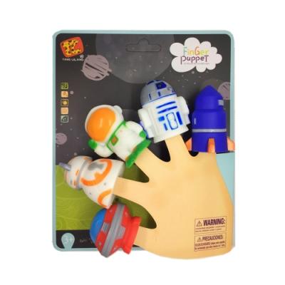[Vanibaby] 手指偶 親子溝通幼兒教具 -太空系列
