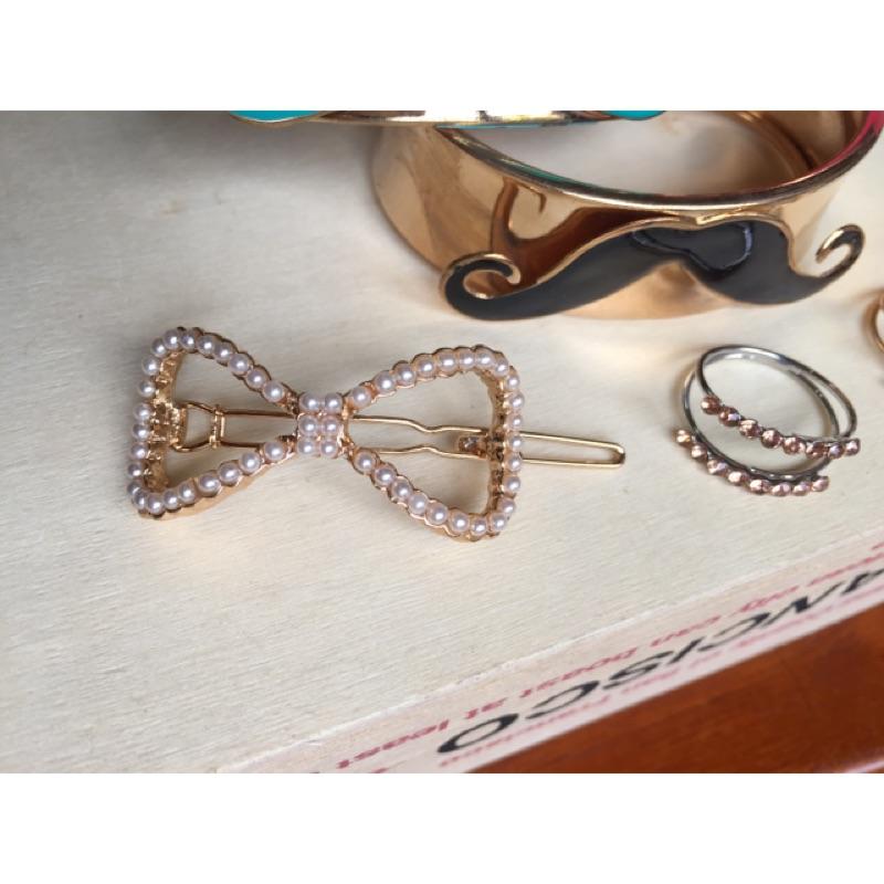氣質珍珠小髮飾