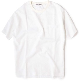 [シップス] リネン クルーネック プルオーバー シャツ メンズ 111520215 オフホワイト L