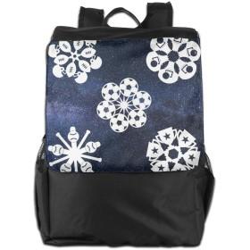 花柄 宇宙 バックパックリュック 大容量 メンズ バックパック カジュアルバッグ オシャレ旅行バッグ 通勤 通学 男女兼用バッグ 黒