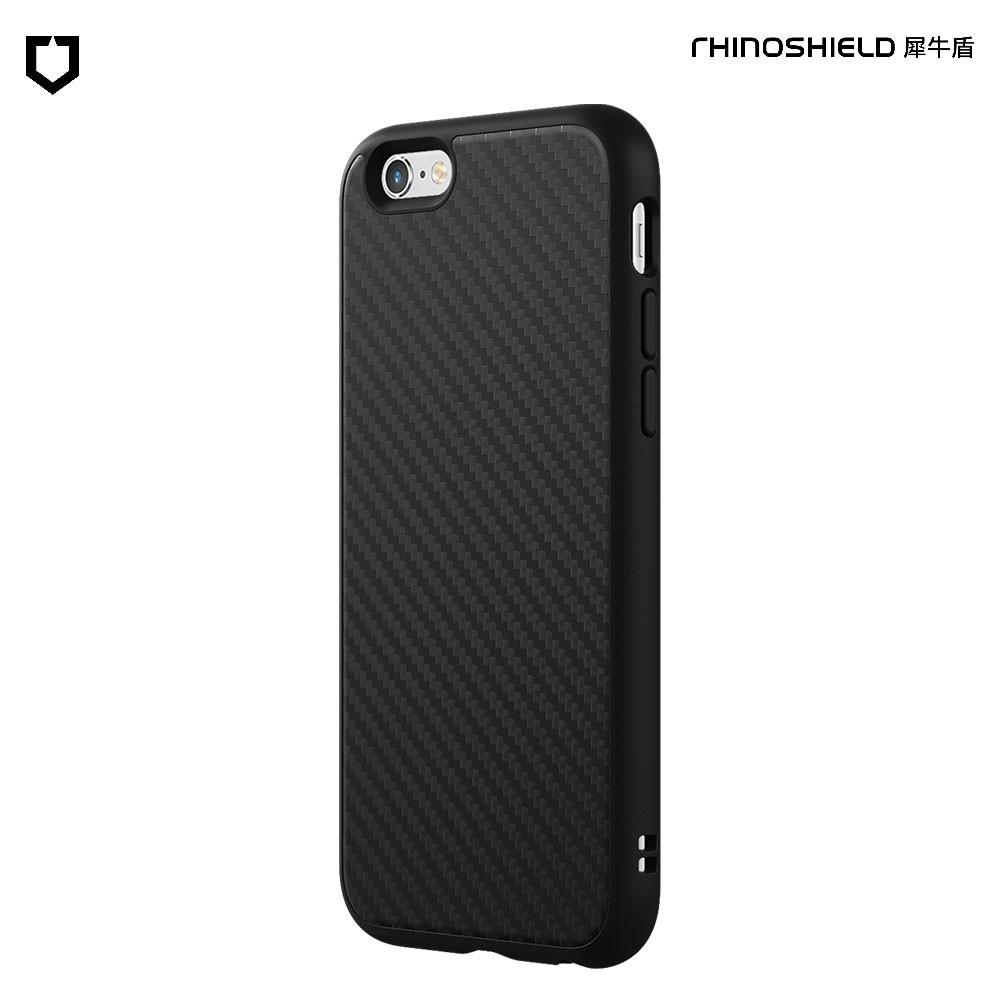 犀牛盾 iPhone 6 6s Plus SolidSuit碳纖維防摔背蓋手機殼