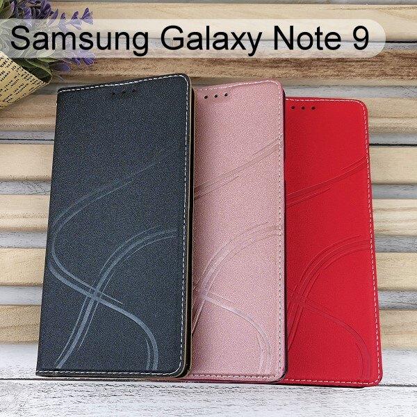 青春隱扣皮套 Samsung Galaxy Note 9 (6.4吋) 多夾層