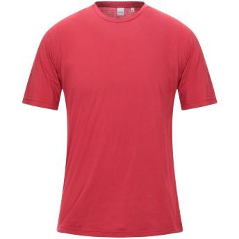 《セール開催中》ASPESI メンズ T シャツ ボルドー M コットン 100%