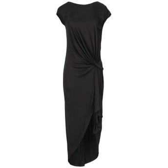 《セール開催中》MICHAEL KORS COLLECTION レディース ロングワンピース&ドレス ブラック 2 レーヨン 83% / シルク 17%