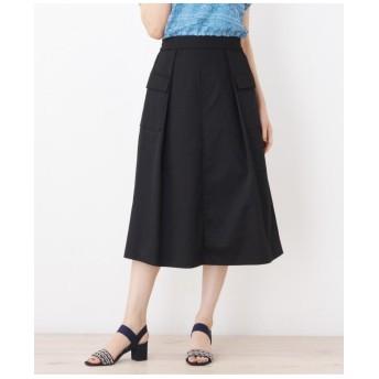 ツイルワークテイストスカート