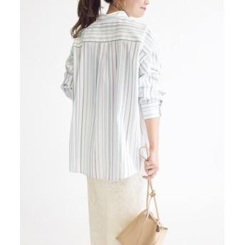 SHIPS for women/シップスウィメン 【Cangioli】ビッグシャツ◇ ミント 38