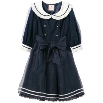 ロディスポット Sweetマリンプリンセスワンピース / mille fille closet レディース ネイビー M 【LODISPOTTO】