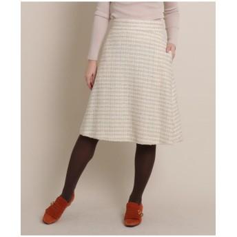 【SS-Lサイズあり】ループミックスツイードスカート