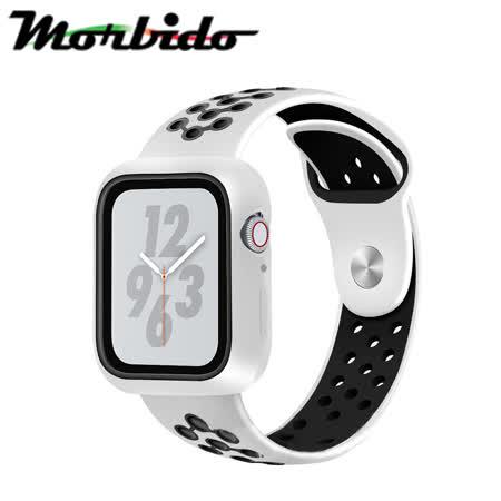 Morbido蒙彼多 Apple Watch 4/5 40mm透氣矽膠運動錶帶