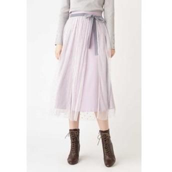 【JILL STUART:スカート】◆ステイシーチュールスカート