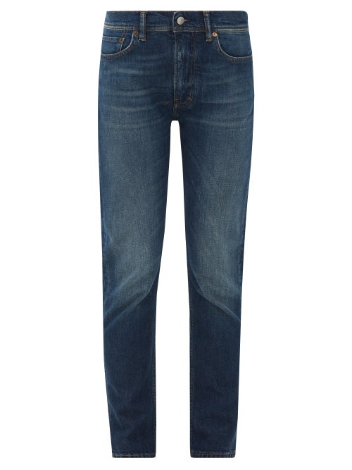 Acne Studios - Melk Slim-leg Jeans - Womens - Blue