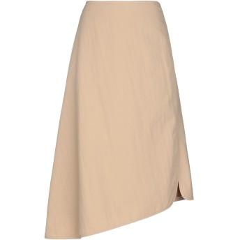 《セール開催中》JIL SANDER レディース 7分丈スカート サンド 32 ポリエステル 83% / ナイロン 17%