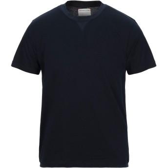 《セール開催中》PMDS PREMIUM MOOD DENIM SUPERIOR メンズ T シャツ ダークブルー S コットン 100%