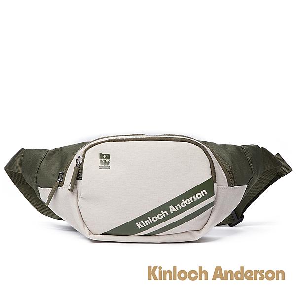 金安德森 Even簡約造型腰包 綠色