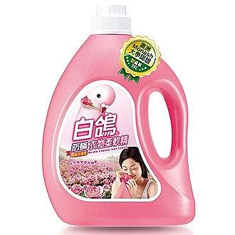 BAIGO 白鴿 防蟎衣物柔軟精-高雅玫瑰香 3200g【康鄰超市】