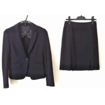 アイシービー ICB スカートスーツ サイズ7 S レディース 美品 黒【中古】20200107