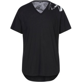 《セール開催中》ANN DEMEULEMEESTER メンズ T シャツ ブラック L コットン 100%