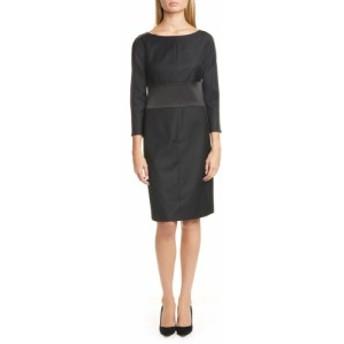ヒューゴ ボス BOSS レディース ワンピース ワンピース・ドレス Denalyn Sheath Dress Black