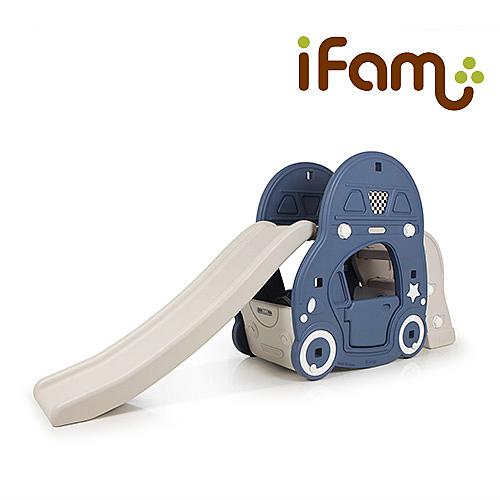 韓國 Ifam 汽車滑梯 (深藍色)IF-004B[衛立兒生活館]