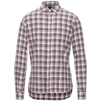 《セール開催中》JECKERSON メンズ シャツ ココア S コットン 100%
