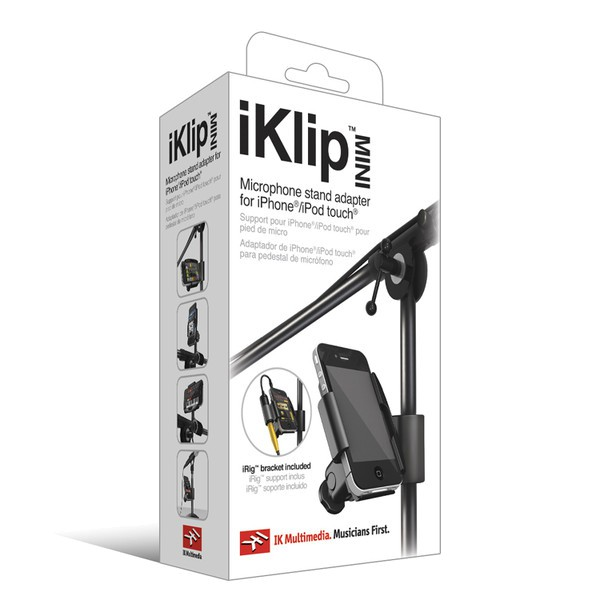 IK Multimedia iKlip Mini - iPhone/ iPod Touch 專用麥克風 (原廠正品保固)