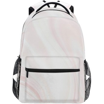 ピンク ストライプ リュック デイパック レディース 通学 学生 旅行 大きい 大容量 アウトドア 男女兼用 リュックサック 軽量 防水 男女兼用