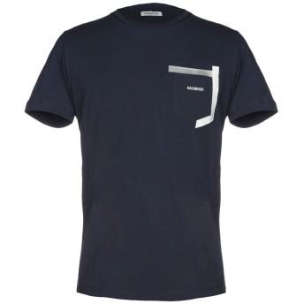 《セール開催中》BIKKEMBERGS メンズ T シャツ ダークブルー XS 92% コットン 8% ポリウレタン