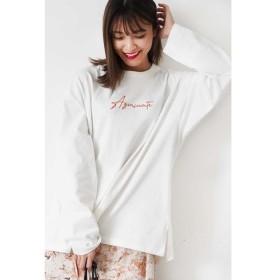 [マルイ] ◆ロゴ刺繍ビッグTシャツ/フリーズマート(Free's Mart)