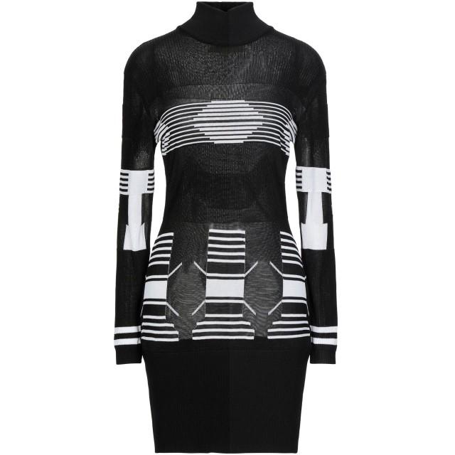 《セール開催中》DOLCE & GABBANA レディース ミニワンピース&ドレス ブラック S レーヨン 100%