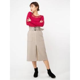 2WayフロントZIPスカート