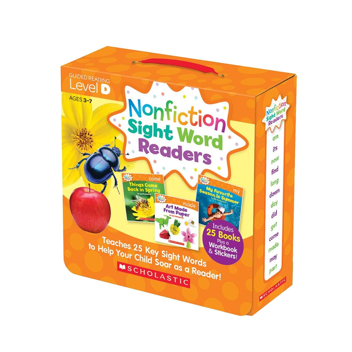 Nonfiction Sight Word Readers Level D with CD-教材+CD-彩色