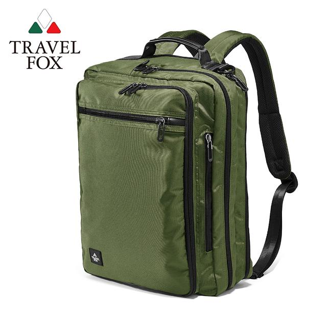 TRAVEL FOX 旅狐 SELECT 4Way高機能商務包 TB803-17 綠色