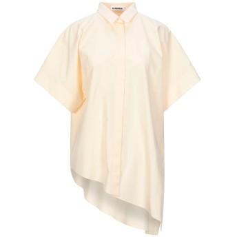 《セール開催中》JIL SANDER レディース シャツ あんず色 38 コットン 100%