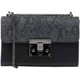 《セール開催中》NILA & NILA レディース メッセンジャーバッグ ブラック 紡績繊維 / 革