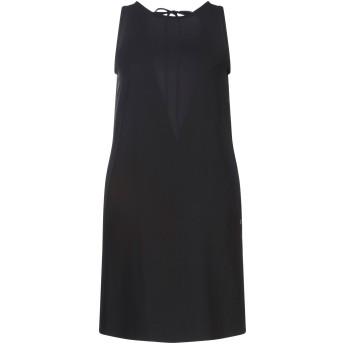 《セール開催中》OTTOD'AME レディース ミニワンピース&ドレス ブラック XXS ポリエステル 97% / ポリウレタン 3%