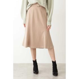 ◇バイカラーステッチスカート