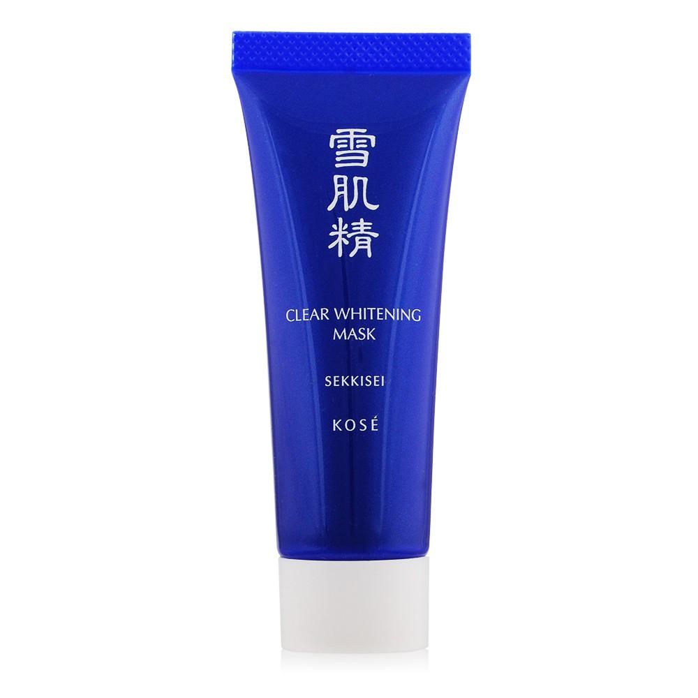 KOSE 高絲 雪肌精淨白黑面膜(25G)【美麗購】