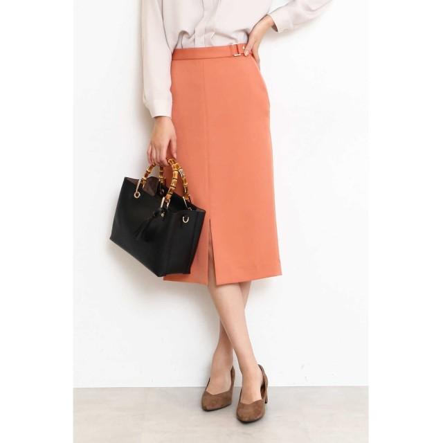 バックルタイトスカート オレンジ