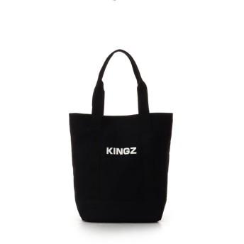 キングズバイサマンサタバサ キャンバストート 縦 メンズ ブラック FREE 【KINGZ by Samantha Thavasa】