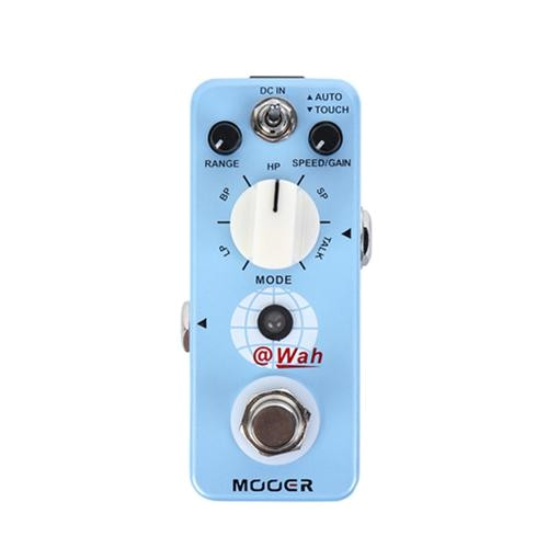 Mooer @Wah Auto Wah 數位自動哇哇 電吉他效果器 [唐尼樂器]